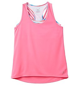 Exertek Girls' 7-16 Twofer Tank Top