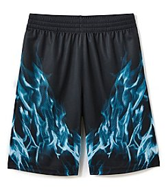Exertek Boys' 4-20 Flame Print Shorts