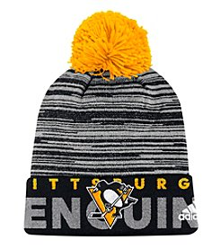 Adidas NHL® Pittsburgh Penguins Men's Locker Room Pom Knit Beanie