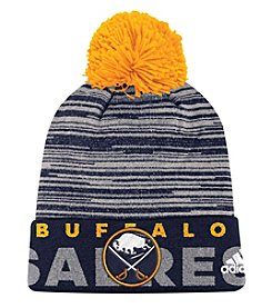 Adidas NHL® Buffalo Sabres Men's On Ice Cuffed Pom Knit Hat
