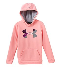 Under Armour Girls' 7-16 Big Logo Solid Hoodie