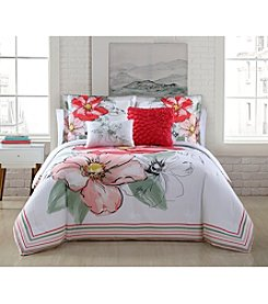 Living Quarters 5-piece Gorgeous Blooms Comforter Set