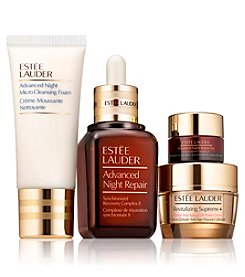 Estee Lauder Repair + Renew For Firmer, Radiant Looking Skin Set