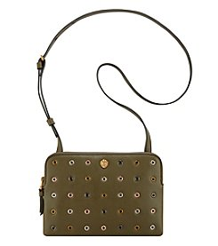 Anne Klein Medium Dual Compartment Grommet Crossbody