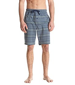 John Bartlett Statements Men's Striped Sleep Shorts