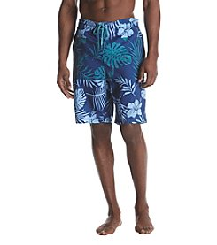 John Bartlett Consensus Men's Floral Printed Swim Shorts