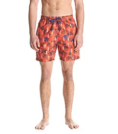 John Bartlett Consensus Men's Printed Swim Trunk
