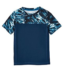 Exertek Boys' 4-7 Short Sleeve Print Yoke Tee