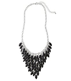 Studio Works Marquis Shaky Black Necklace