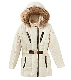 Hawke & Co. Girls' 7-16 Stadium Coat