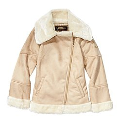 Hawke & Co. Girls' 7-16 Faux Shearling Jacket