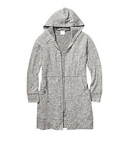 It's Our Time Girls' 7-16 Hooded Cardigan