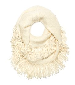 Cejon Brushed Caterpillar Loop Scarf