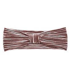 Twig & Arrow Velvet Pleated Headband