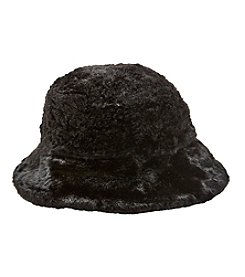Nine West  Reversible Fur Bucket Hat