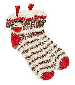 Legale 3D Print Monkey Slipper Socks
