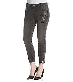 Democracy Twisted Seam Ankle Jeans