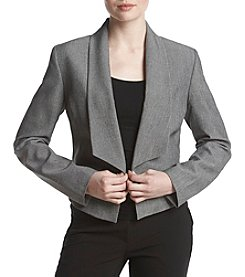 Nine West Flyaway Jacket With Lapels