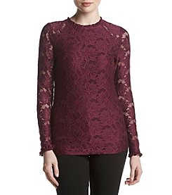 Ivanka Trump Stretch Lace Top