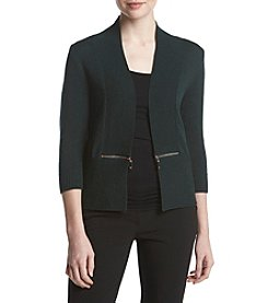 Ivanka Trump Cardigan With Zip Pockets