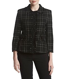 Ivanka Trump Tweed Jacket
