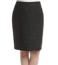 Nine West Plus Size Slim Skirt