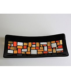 Fire Light Glass & Design 12 x 5 Mosaic Tray