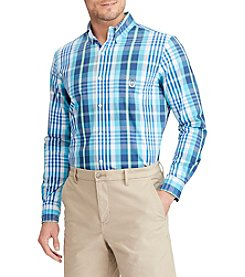 Chaps Men's Big & Tall Easycare Stretch Button Down Shirt