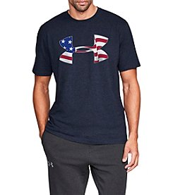 Under Armour Men's Flag Logo Tee