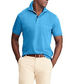 Chaps Men's Short Sleeve Knit Polo