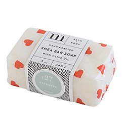 Mixture Valentine Shea Bar Soap