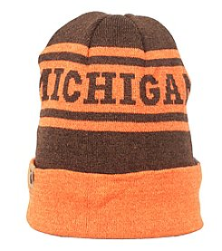 Cirque Mountain Apparel Orange Brown Michigan Beanie