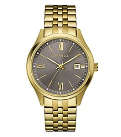 Caravelle Men's Goldtone Braclet Watch