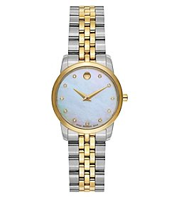 Movado Women's Museum Classic Two Tone Watch