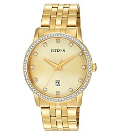 Citizen Quartz Men's Gold Tone Watch