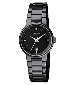 Citizen Quartz Women's Ion Plated Watch