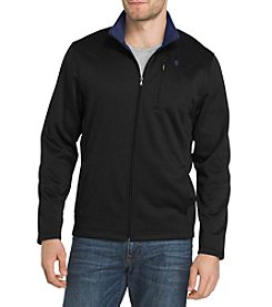 IZOD Men's Big & Tall Solid Spectator Fleece Jacket