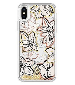 Vera Bradley Glitter Flurry iPhone X Case