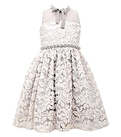 Bonnie Jean Girls' 7-16 Allover Lace Dress