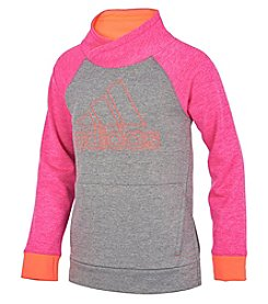 adidas Girls' 7-16 Pull Me Over Sweatshirt