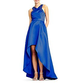 Adrianna Papell High Low Ball Gown