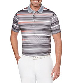 PGA TOUR Men's Energy Stripe Short Sleeve Polo