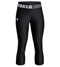 Under Armour Girls' 7-16 HeatGear® Armour Capris