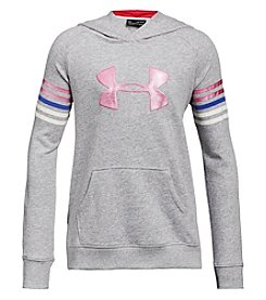 Under Armour Girls' 4-6X Long Sleeve Favorite Terry Hoodie