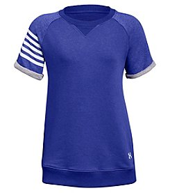 Under Armour Girls' 7-16 Short Sleeve Favorite Terry Crew Tee