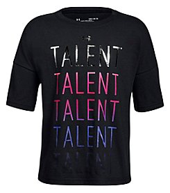 Under Armour Girls' 4-6x Multi Talented Short Sleeve Tee