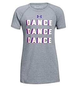 Under Armour Girls' 4-6X Dance Dance Short Sleeve Tee