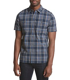 Ruff Hewn Men's Plaid Short Sleeve Button Down Shirt
