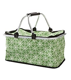 Living Quarters Green Trellis Insulated Tote