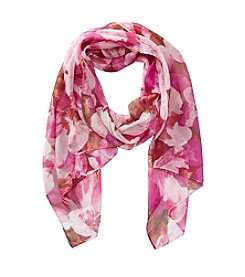 Collection 18 Blossoms Oblong Scarf